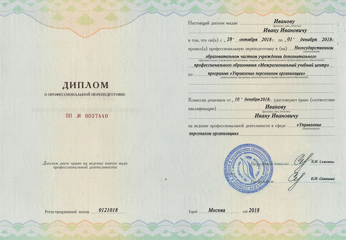 Обучение управлению персоналом в Воронеже